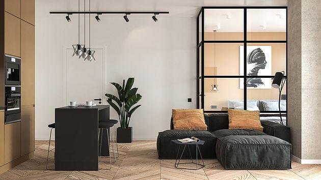 Полноценная двухкомнатная квартира из однушки 37 кв м