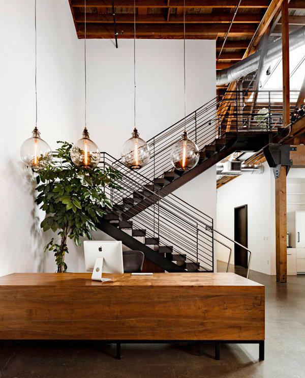 Офис редакции в стиле лофт