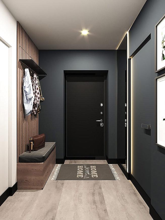 3 стильные квартиры площадью до 40 квадратных метров
