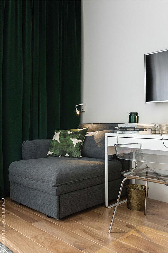 Интерьер квартиры-студии площадью всего 28 метров