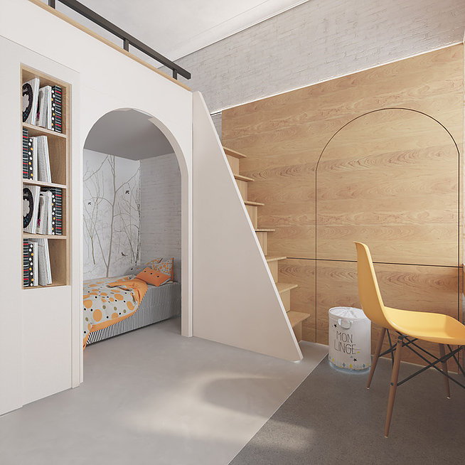 БОХО-стиль петербургской квартиры площадью 63 кв м