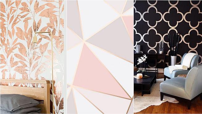 8 модных способов использовать розовое золото в интерьере