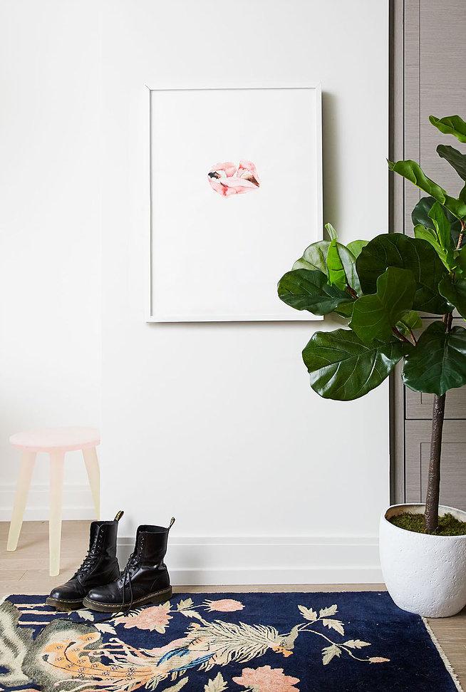 Феминистичный дизайн маленькой квартиры