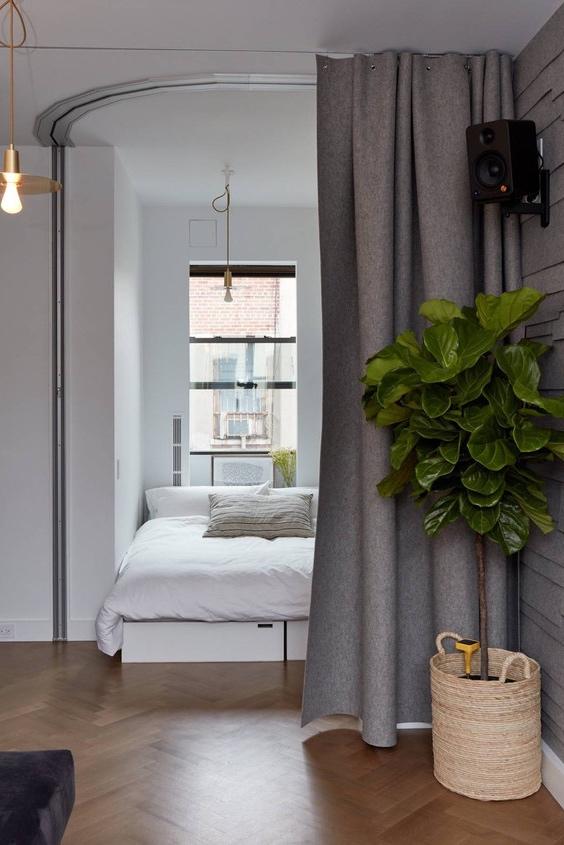 Квартира-трансформер площадью 32 квадратных метра