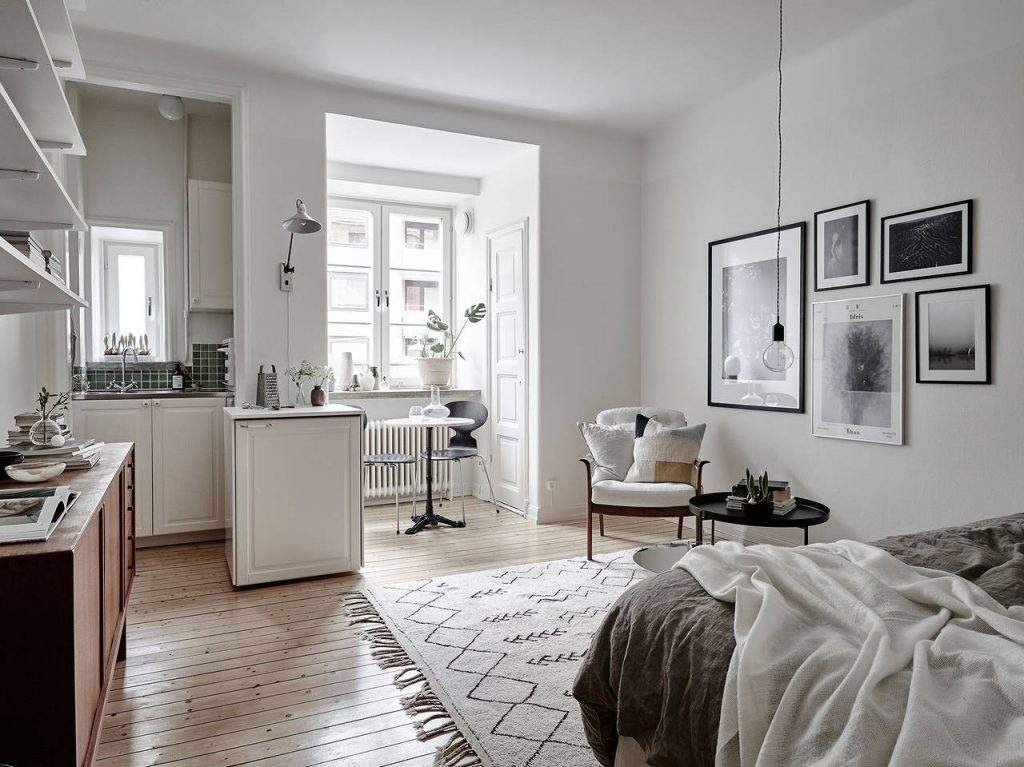Cтудия: большие возможности маленькой квартиры