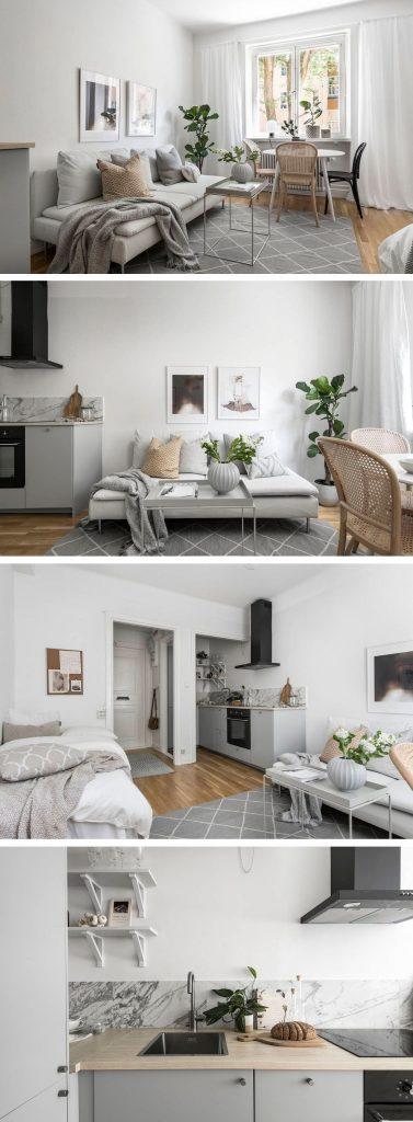 5 уютных миниатюрных квартир площадью до 35 кв. м.
