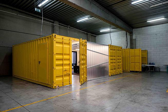 Офисное пространство из морских контейнеров