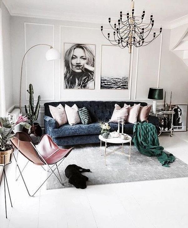 7 идей для роскошного интерьера гостиной в стиле boho-chic