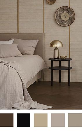 5 цветовых палитр для спальни в скандинавском стиле