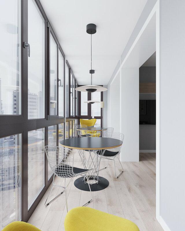 Стильная квартира площадью 30 кв м