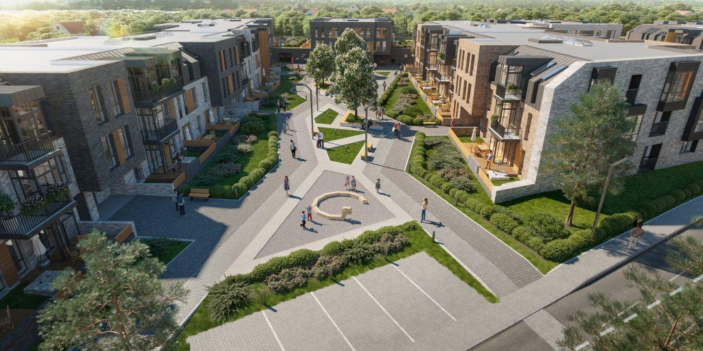 Новый жилой комплекс в Стрельне «Veren Village»