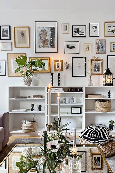 Скандинавский интерьер квартиры площадью 39 кв м, который хочется повторить дома