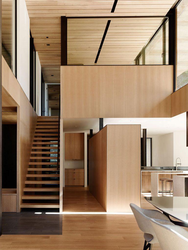 Как произведение искусства: современный энергоэффективный дом в стиле минимализм