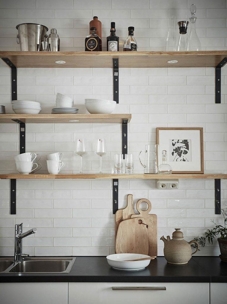 Само изящество: элегантный бежевый интерьер в скандинавским стиле, за которым стоит пойти в IKEA