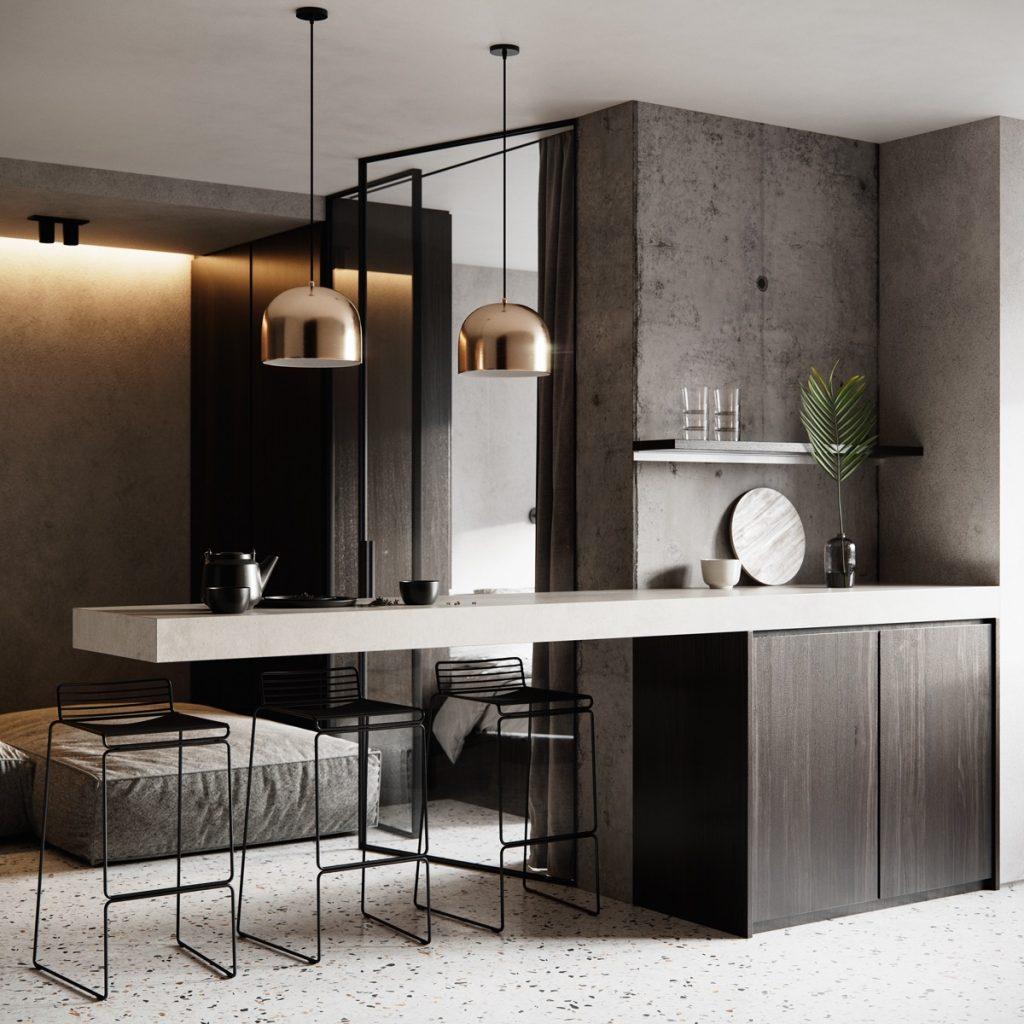 3 бюджетных интерьера маленьких квартир в стиле минимализм, которые хочется повторить