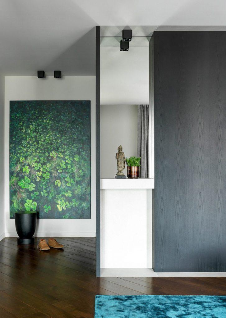 Эффектный интерьер квартиры площадью 36 кв м в стиле минимализм