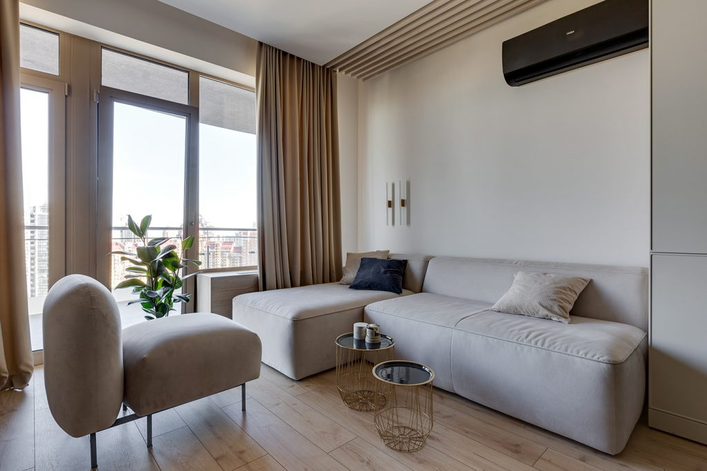 Интерьер однокомнатной квартиры, который никто не назовет старомодным