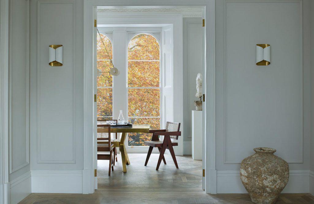 Изысканный парижский стиль в интерьере апартаментов в Лондоне