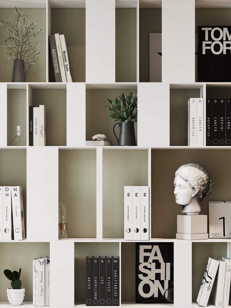 Роскошный современный интерьер с элементами модернизма