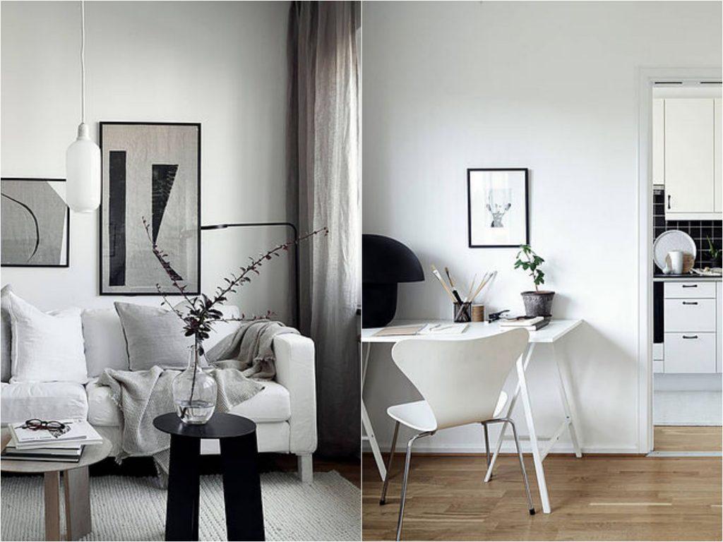 5 маленьких интерьеров в скандинавском стиле на небольшой бюджет