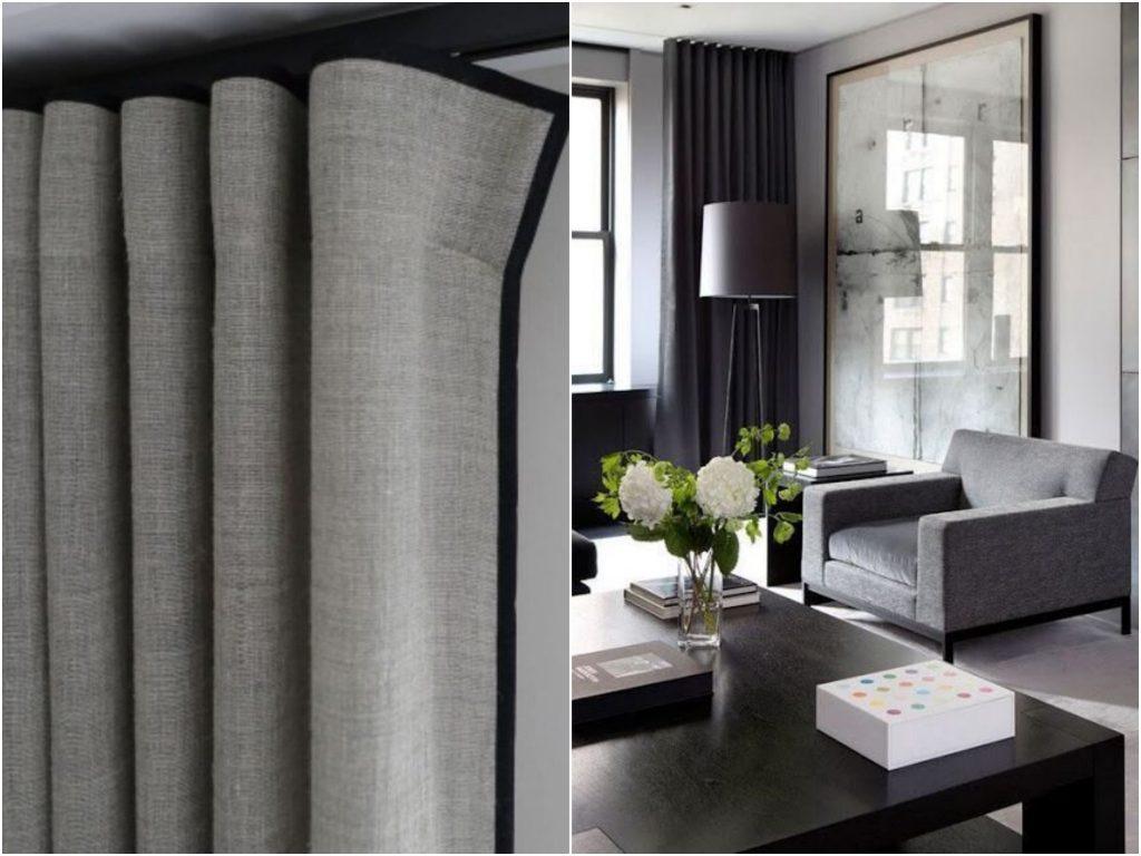 Домашний текстиль: 5 способов повесить шторы, их плюсы и недостатки