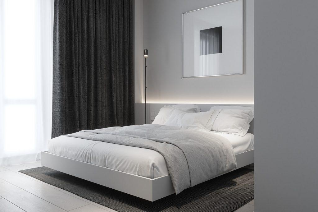 Нескучный минимализм: современный интерьер квартиры