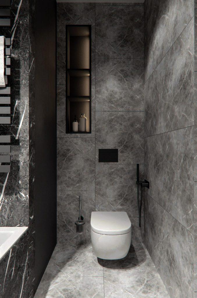 Безупречный стиль однокомнатной квартиры площадью 41 квадратный метр