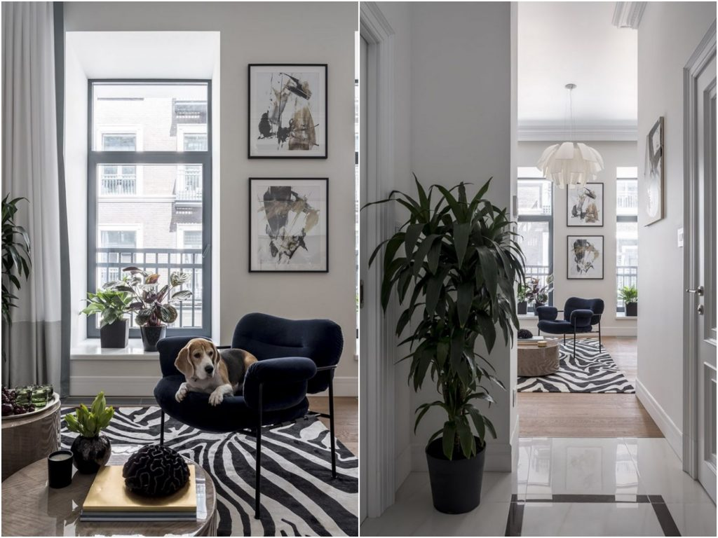 В тренде: 5 по-настоящему модных интерьеров небольших квартир до 40 м²