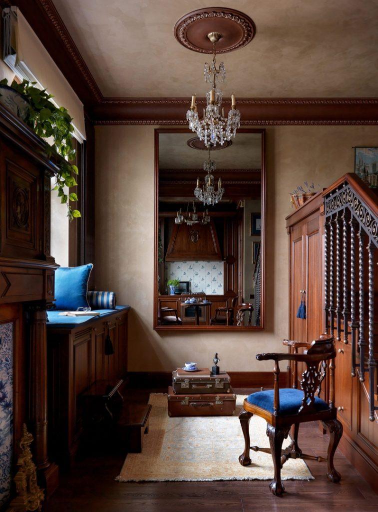 Истинная классика: интерьер квартиры площадью 37 м² в викторианском стиле
