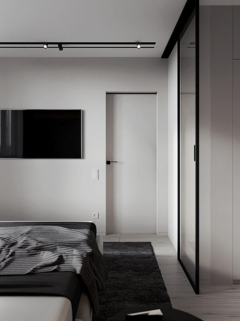 Безупречный стиль оодушки площадью 41 квадратный метр