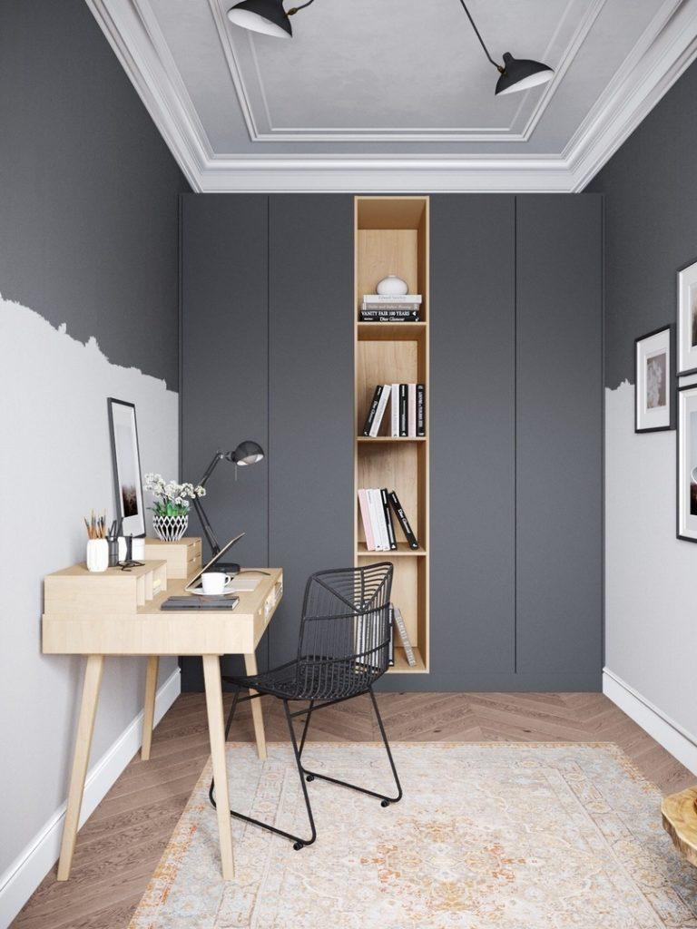 Лофт и классика: причудливое смешение стилей в московской квартире площадью 66 м²