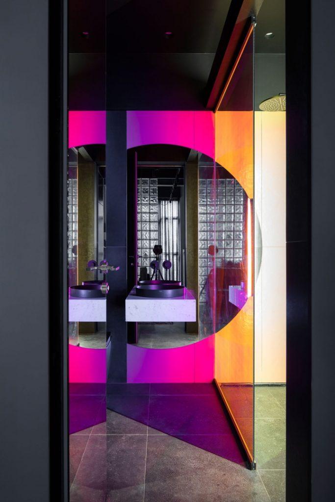 В стиле лофт: апартаменты площадью 35 кв м в здании бывшей фабрики в Москве