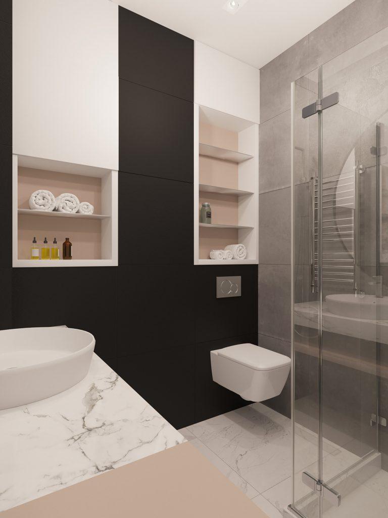 Безупречный стиль: интерьер однокомнатной квартиры площадью 37 м²