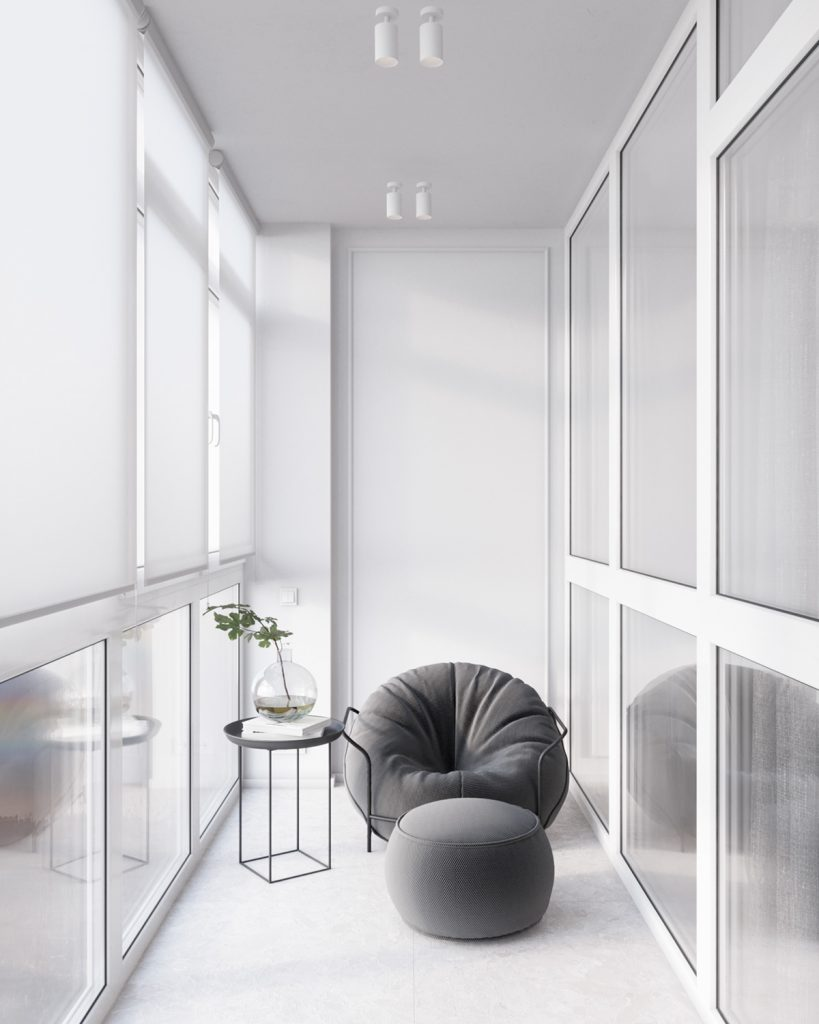 Нежная пастель: элегантный интерьер квартиры площадью 54 м²