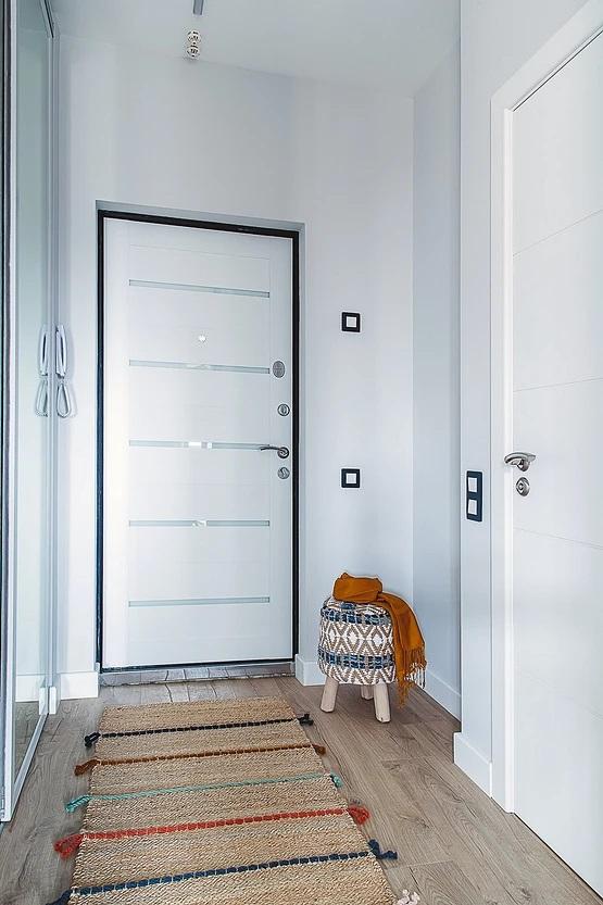 Проект интерьера квартиры площадью 37 м² с присоединением лоджии