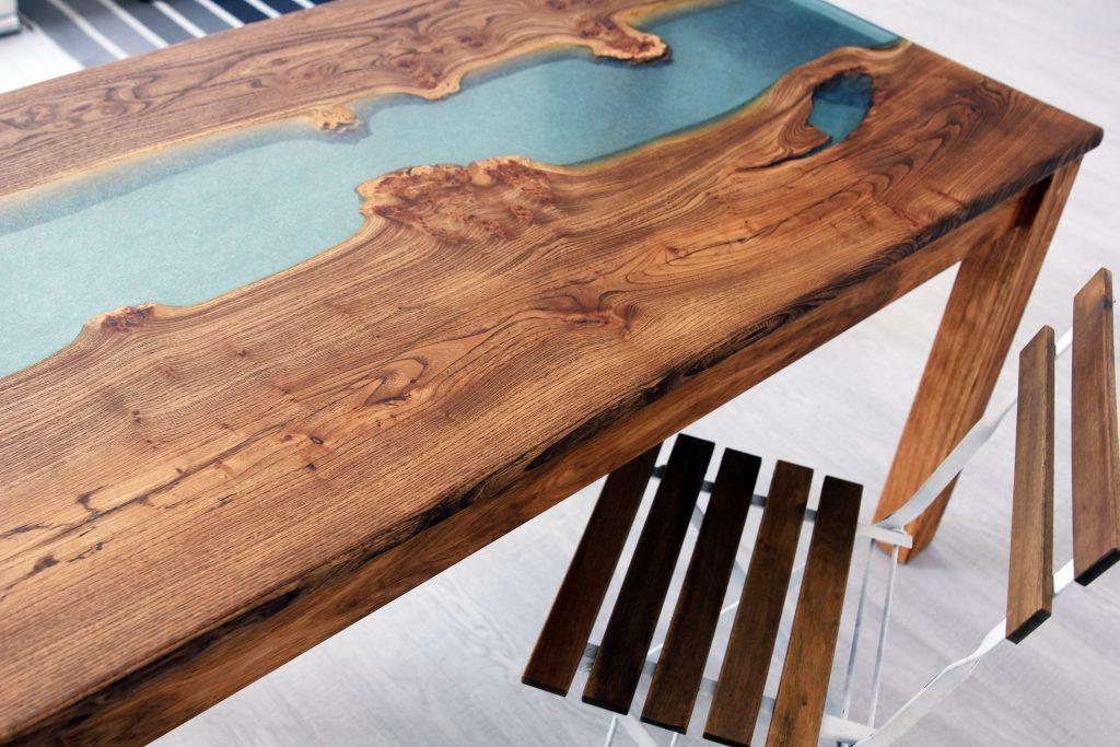 Экодизайн: как на самом деле создаются столы-реки
