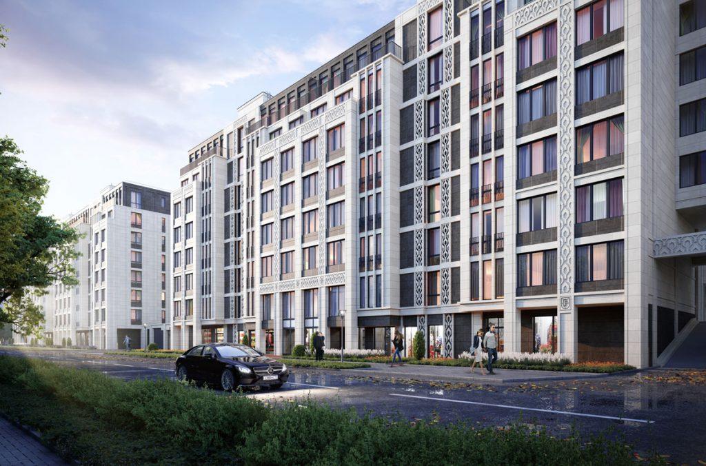 Новый жилой комплекс «Familia» на Петровском острове