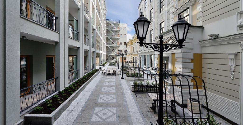 В двух шагах от Исаакия: жилой комплекс Монферран