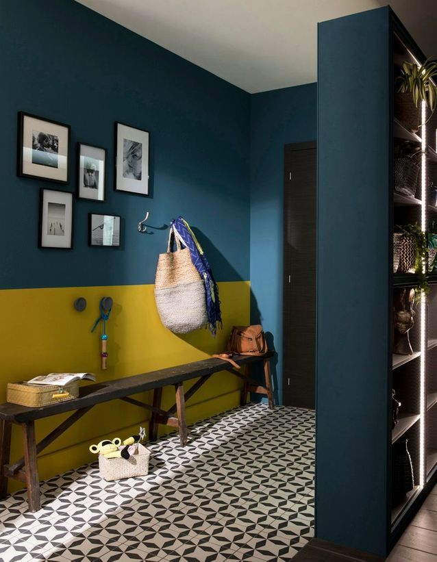 В какой цвет красить стены: 30 модных идей для вдохновения