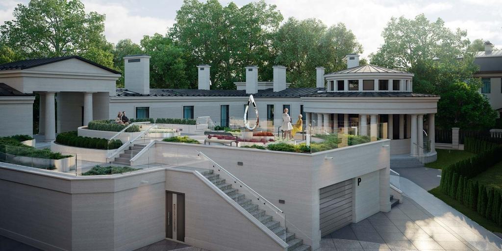"""В окружении зелени парков: новый элитный жилой комплекс """"Крестовский IV"""""""