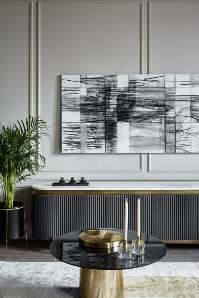 Современный дизайн: очень красивый интерьер трехкомнатной квартиры в современном стиле