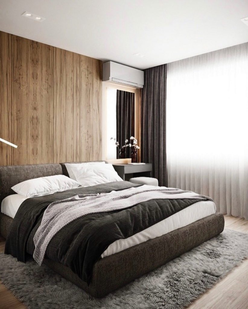 Классика жанра: современный интерьер в нейтральной палитре квартиры площадью 43 м²