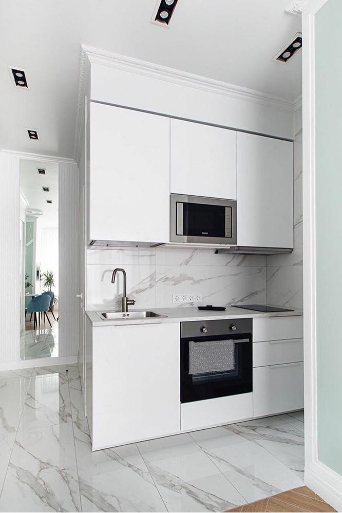 Если места совсем мало: 5 стильных квартир площадью до 20 м²