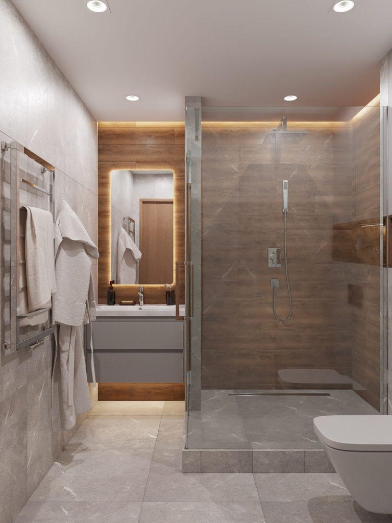 Мужской минимализм: стильный дизайн-проект студии площадью 27 м²