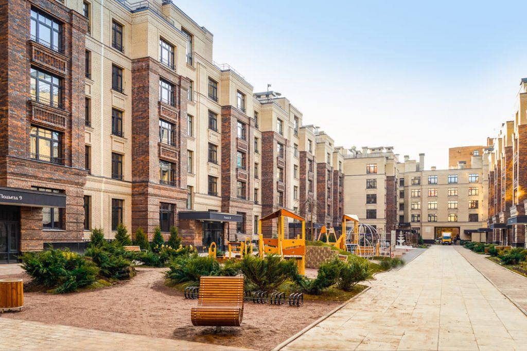 """С видом на парк: новый жилой комплекс """"Сосновка"""" в Петербурге"""