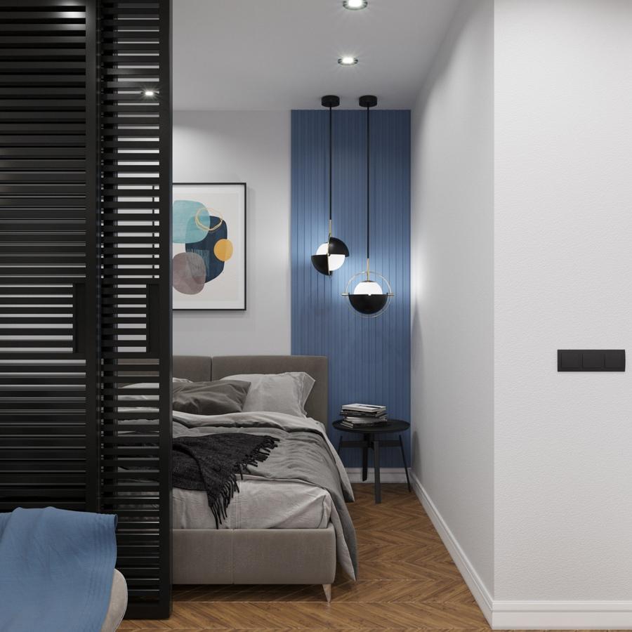 Светло, легко и изящно: дизайн-проект квартиры площадью 33 м²