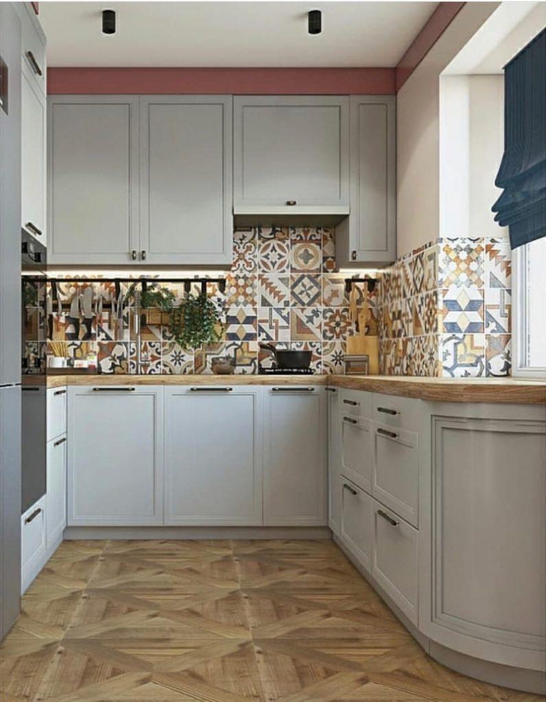 Готовое решение для 30 м²: интерьер квартиры в нескучных цветах, который просто повторить