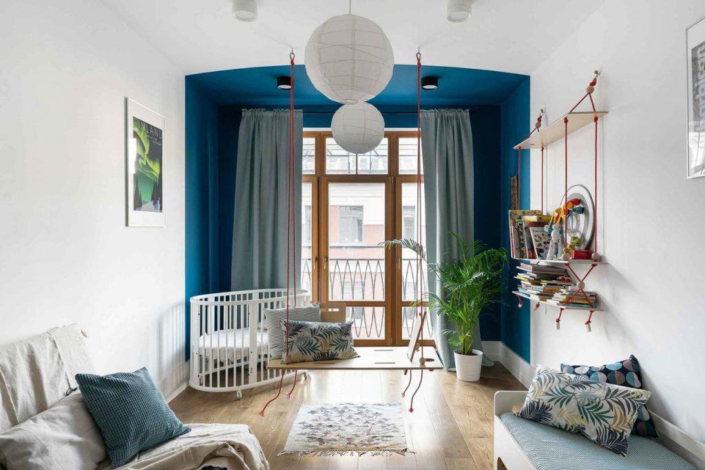 Скандинавия в Петербурге: изысканный скандинавский интерьер квартиры площадью 90 м² в центре Петербурга