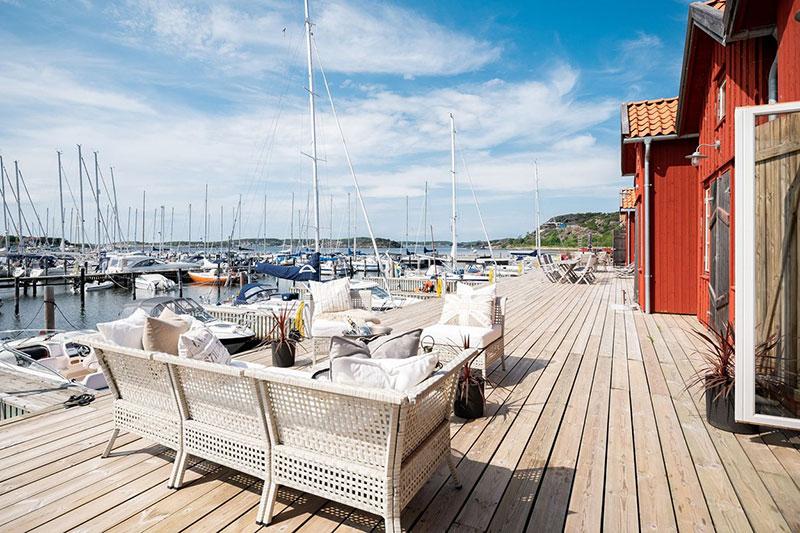 Дом из гаража для яхты площадью 15 м²
