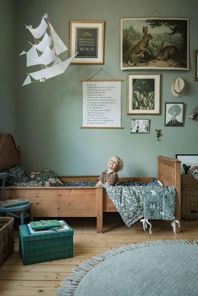 Очаровательный интерьер дачного дома в скандинавском стиле